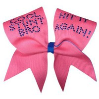Amazon.com: Cool Stunt Bro- Neon Pink Cheer Bow: Sports & Outdoors