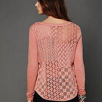 Free People Clothing Boutique > Patches Of Lace Henley