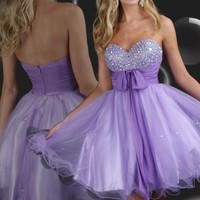 Sweetheart Short Homecoming Cocktail Dresses Prom Dresses Graduation Prom Gowns