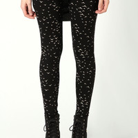 Alexandra Micro Bird Leggings