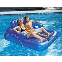 Amazon.com: Swimline Kickback Adjustable Lounger, Double: Toys & Games