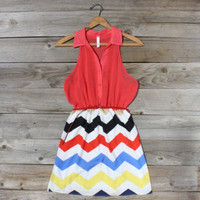 Broken Arrow Chevron Dress, Sweet Women&#x27;s Country Clothing