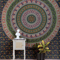 Urban Outfitters - Floral Medallion Tapestry