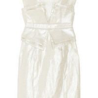 Sass & bide|One More Night metallic linen and cotton-blend dress|NET-A-PORTER.COM