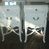 CBell - Furnishing Life - Side Dressers & Nightstands - Pair of Restored Nightstands