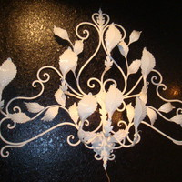 CBell - Furnishing Life - Lighting - Palm Beach Regency Leafy Vine Wall Light
