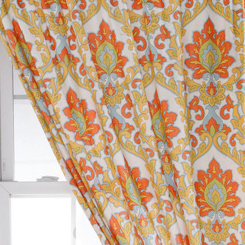 Floral Medallion Curtain