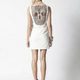 Skull Dress - Ivory