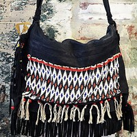 Free People Vintage African Fulani Bag