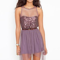 Jozlyn Sequin Dress in  Clothes at Nasty Gal