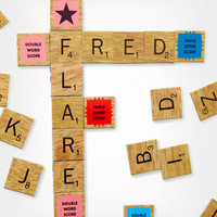 Scrabble Refrigerator Magnet Set | Fridge Scrabble | fredflare.com