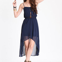 Blue Moon Asymmetrical Dress - $39.00 : ThreadSence.com, Your Spot For Indie Clothing  Indie Urban Culture