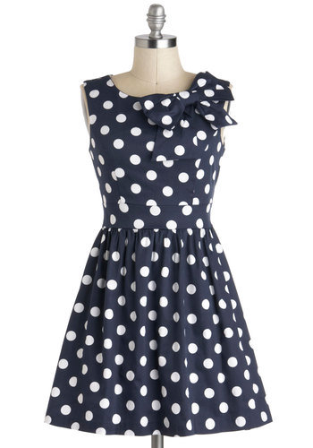 The Pennsylvania Polka Dots Dress | Mod Retro Vintage Dresses | ModCloth.com