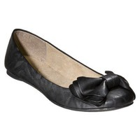 Women&#x27;s Mossimo Supply Co. Odelina Bow Flats - B... : Target