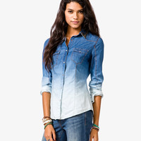 Ombré Bejeweled Shirt