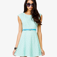 A-Line Eyelet Dress