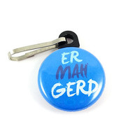 Ermahgerd (Oh My God) Internet Meme Zipper Pull