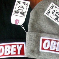 HOT ! NEW Supreme OBEY B...