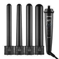 amika 4P Interchangeable Barrel Curler Set