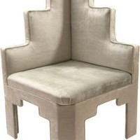 One Kings Lane - Samantha Knapp, Tiger Lily's - Triple Tier Corner Chair