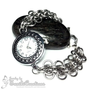 Katie - Back to Work Chainmaille Banded Watch (Stainless Steel) - Exclusive Gift to Katie Holmes