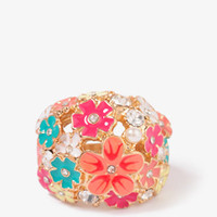 Lacquered Wildflower Ring | FOREVER 21 - 1000049053
