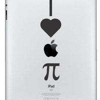 I Love Apple Pie iPad/iPad 2 Vinyl Decal FREE by NothinbutVinyl