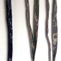 Lanyard, Military, Air Force ABU, Army ACU, Navy NWU