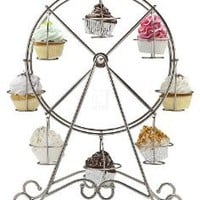 Amazon.com: FERRIS WHEEL CUPCAKE HOLDER HOLDS 8 CUPCAKES: Home & Kitchen