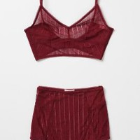 Pin-Dotted Bra - Anthropologie.com