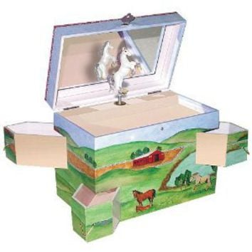 Amazon.com: Enchantments Hideaway Horse Music Box: Toys & Games