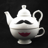 Teapot by kaoriglass on Etsy $23