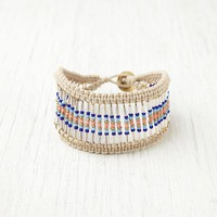 Free People Soft Bead Armadillo Bracelet