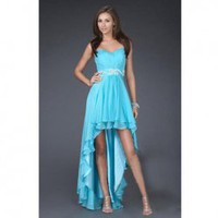 A-line Sweetheart Asymmetrical Double Layer Satin Hem Wedding Party Dress China Wholesale - Everbuying.com