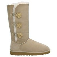 Sand 1873 Women's UGG Bailey Button Triplet Outlet UK