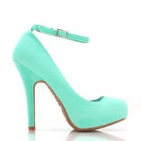 ankle-strap-pumps BLACK MINT NUDE - GoJane.com