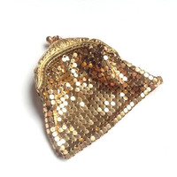 Gold change purse