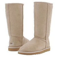 UGG Classic Tall 5815 Boots Sand Outlet UK