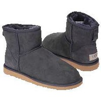 UGG 5854 Classic Mini Boots Grey Outlet UK