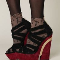 Dolce Vita Cabaret Platform at Free People Clothing Boutique