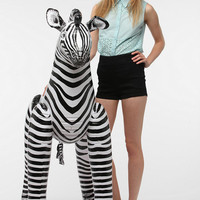 Inflatable Zebra