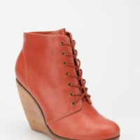 UrbanOutfitters.com > Cooperative Wood & Leather Wedge Boot