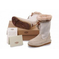 UGG Women&#x27;s Suburb Crochet Sand 5124 Outlet UK