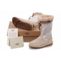 UGG Women's Suburb Crochet Sand 5124 Outlet UK