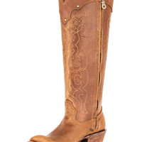 Corral Women's Kats Natural Westport Boot - C1971