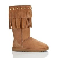Ugg 3045 Jimmy Choo Boots Chestnut Outlet UK