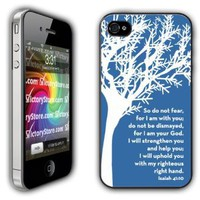 Amazon.com: iPhone 4/4s Case - Christian Theme - Isaiah 41:10 - Clear Protective Hard Case: Cell Phones & Accessories
