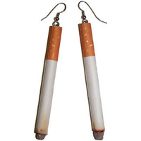 "3.25"" cigarette earrings"