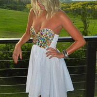 FAIRY BREAD DRESS - BACK IN STOCK
