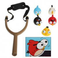 Funny Angry Birds Toy Slingshot Figure Toy Collection 808-1 China Wholesale - Everbuying.com
